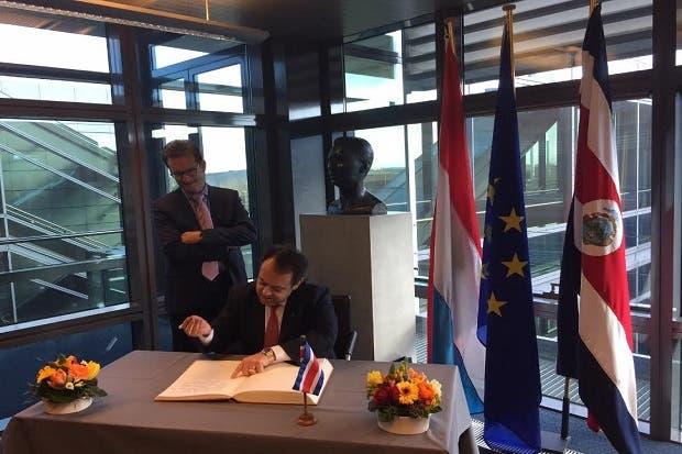 Costa Rica busca fortalecer comercio con Bélgica y Luxemburgo