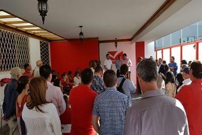 Movimiento Libertario inauguró sede nacional hoy