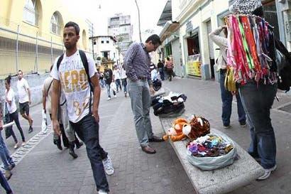 922 mil personas trabajan en el mercado informal
