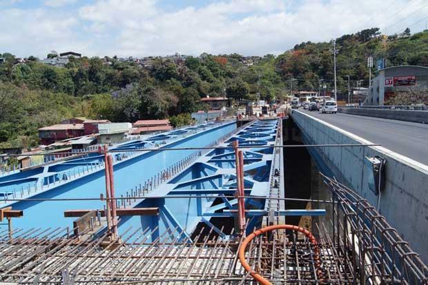 Segundo puente en sector de Pozuelo estará listo en marzo