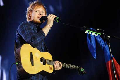 Entradas para Ed Sheeran ya están disponibles