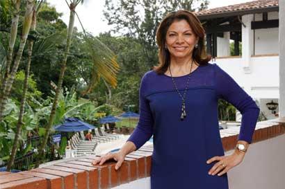 """Laura Chinchilla: """"Al pueblo venezolano no lo van a callar"""""""