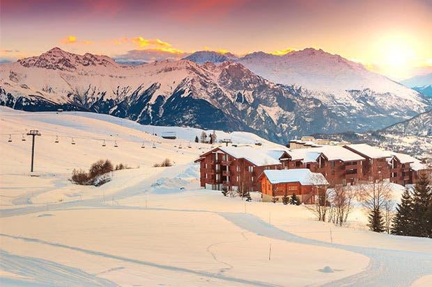 El cambio climático derretirá la nieve de los Alpes para 2100