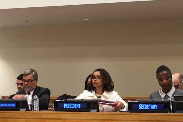 Costa Rica preside conferencia sobre prohibición de armas nucleares