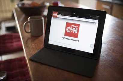 Gobierno tico se opone a bloqueo de transmisión de CNN en Venezuela