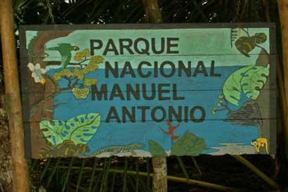 $970 mil serán invertidos en remodelación del Parque Nacional Manuel Antonio
