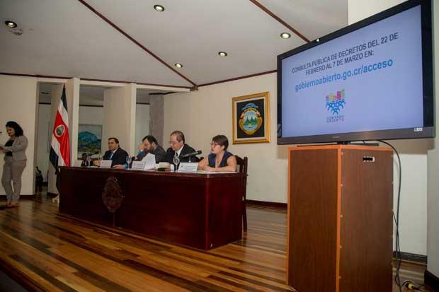 Gobierno consultará a ciudadanía decretos para acceso a información