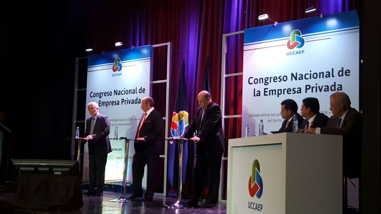 Precandidatos del PUSC hacen promesas sobre infraestructura