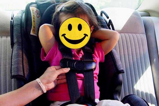 Tránsito multó a 69 conductores en enero por falta de dispositivos apropiados para niños