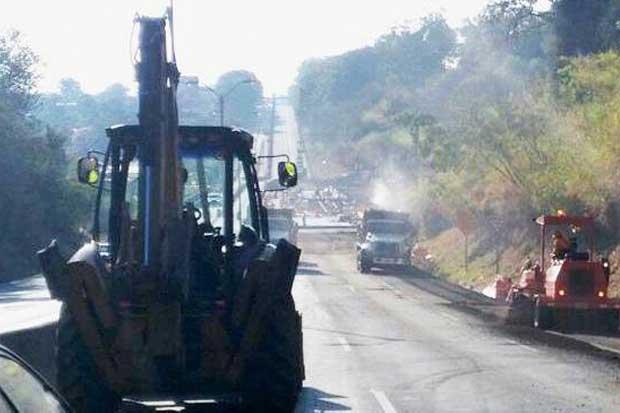 Trabajos de relleno de aproximación continúan en puente Alfredo González