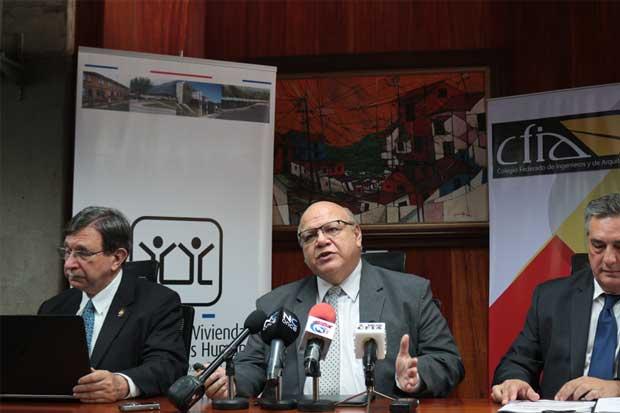Colegio de Ingenieros y de Arquitectos evaluó calidad de 267 viviendas de interés social
