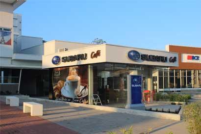 Subaru implementa nuevo negocio y abre su primera cafetería en Centroamérica