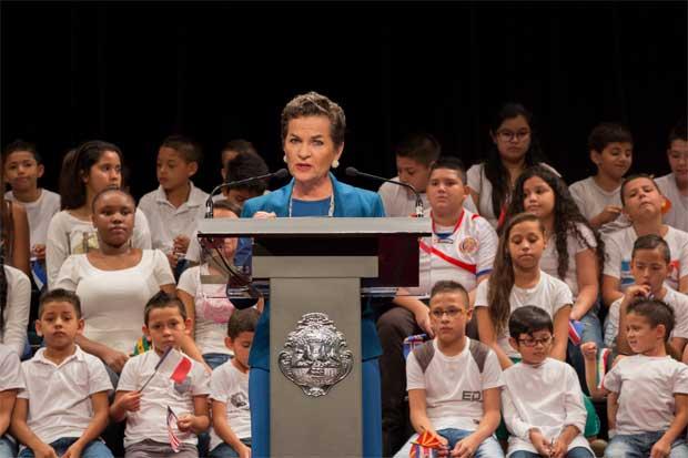 Christiana Figueres ofrecerá conferencia sobre liderazgo
