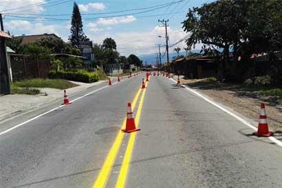 Tránsito concluye mañana señalización entre Santo Domingo y Moravia