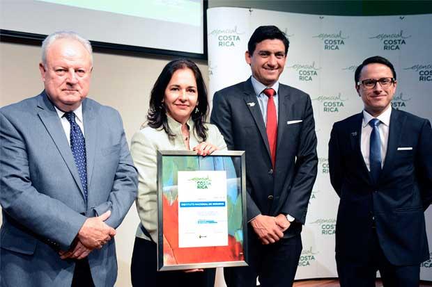 Instituto Nacional de Seguros obtiene marca país