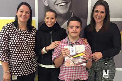 Campaña promueve inclusión de personas con síndrome de Down
