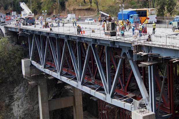 Rellenos de aproximación y losetas en puente Alfredo González ya están listos