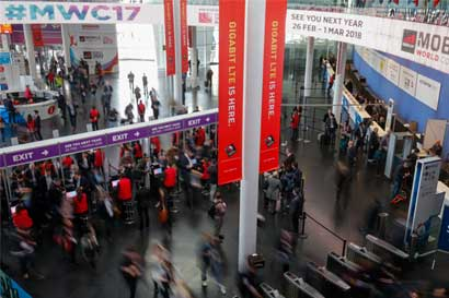 Tres empresas nacionales participaron en el Mobile World Congress
