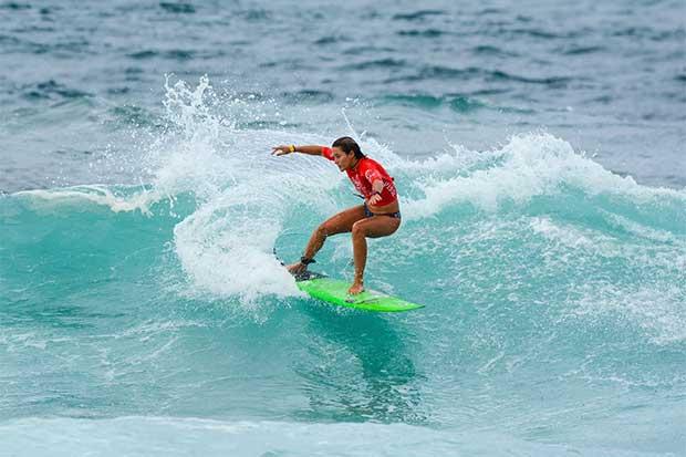 Emily Gussoni, diosa de las olas