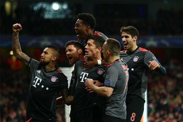 Bayern Múnich y Real Madrid avanzan en la Champions League