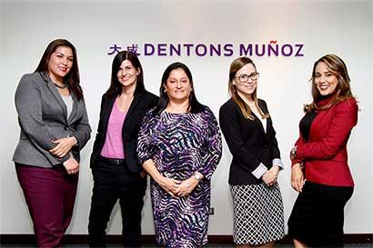 Dentons Muñoz: Firma que promueve el liderazgo femenino