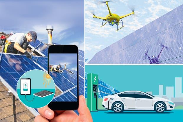 Múltiples aplicaciones con energía solar