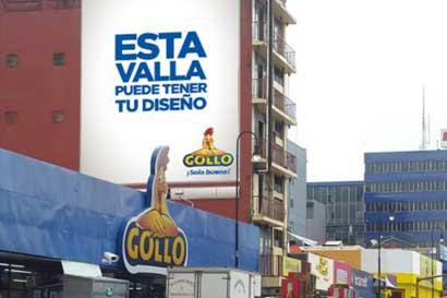 """Universitarios podrán diseñar valla gigante """"Solo Bueno"""" de Gollo"""