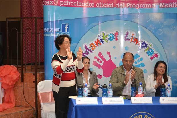Caja y MEP reforzarán estrategia de lavado de manos en todo el país