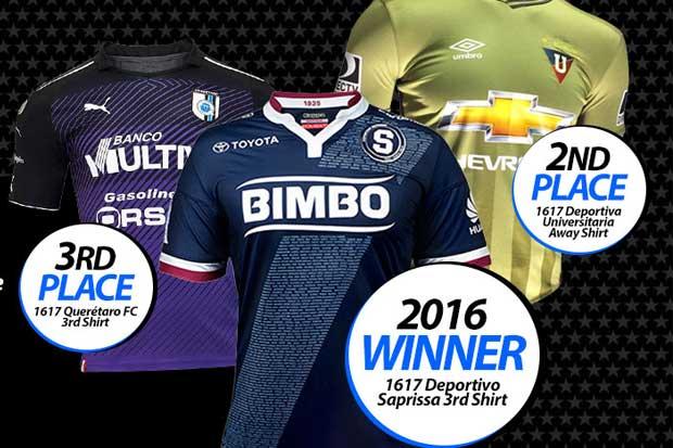 Uniforme de Saprissa fue elegido como el mejor diseño del 2016