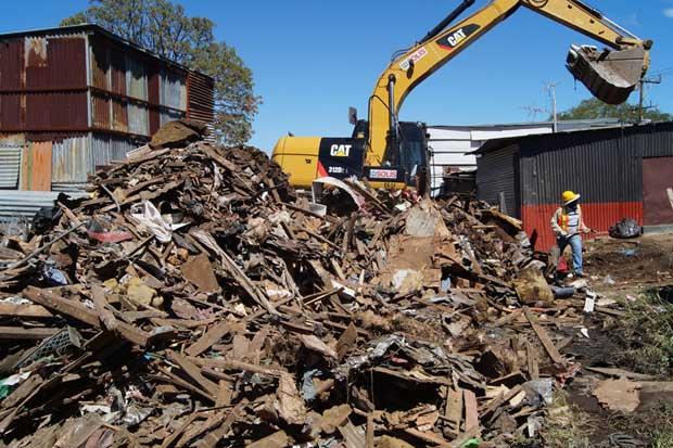 MOPT continúa limpieza en Arco Norte de Circunvalación