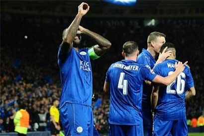 Leicester City es de cuartos de la Champions League
