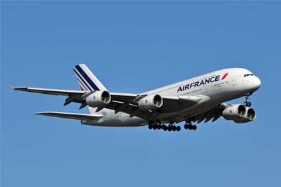 Air France aumenta vuelos a Costa Rica
