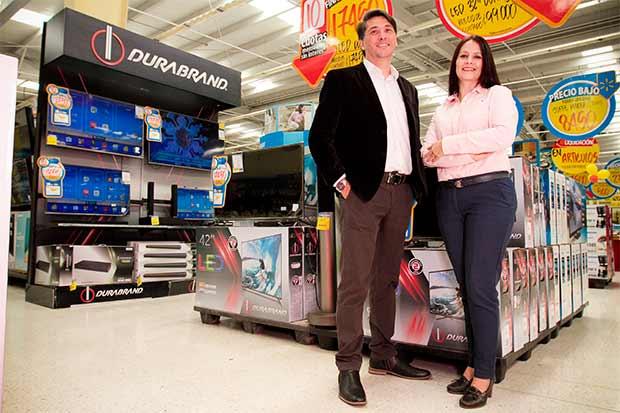Nuevas pantallas de Dubrand llegan a Walmart