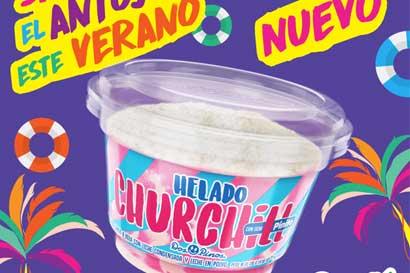 Dos Pinos lanzó nuevo helado Churchill