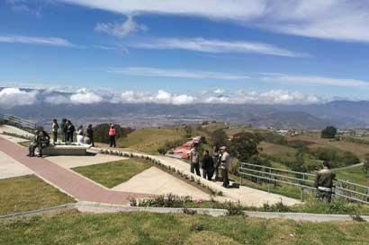 Parque Nacional Volcán Irazú cuenta con nueva infraestructura turística