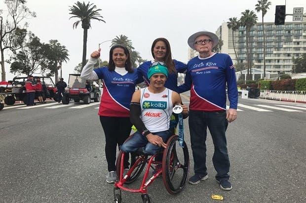 Laurens Molina ganó maratón de Los Ángeles