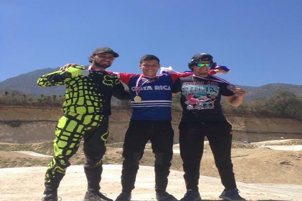 Ticos ganan copa de BMX de Guatemala
