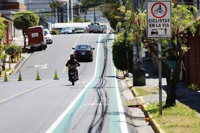 Presentan proyecto de ciclovía que conectará San Pedro con La Sabana