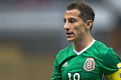 Andrés Guardado será baja ante Costa Rica el viernes