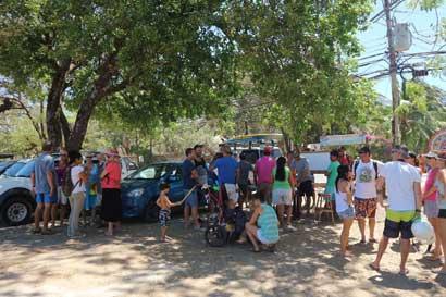 Vecinos de Tamarindo se oponen a construcción de restaurante en espacio público