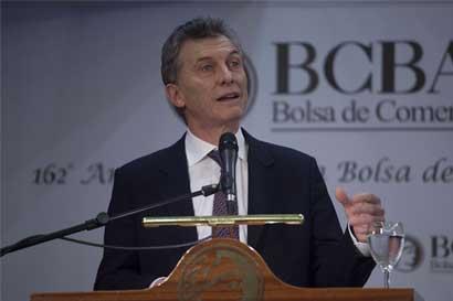Argentina sale de la recesión; menos presión sobre Macri