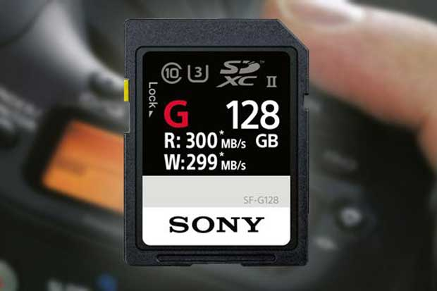 Sony presenta la tarjeta SD más rápida del mundo