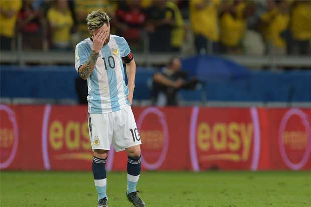 FIFA suspende por cuatro partidos a Messi