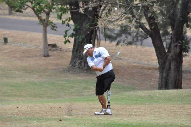 Atletas paralímpicos juegan su primer Ranking Nacional de Golf