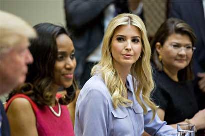 Ivanka Trump tendrá oficialmente una oficina en la Casa Blanca