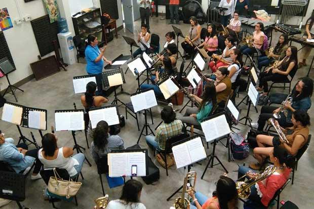 Banda de Mujeres de Costa Rica ofrecerá su primer concierto