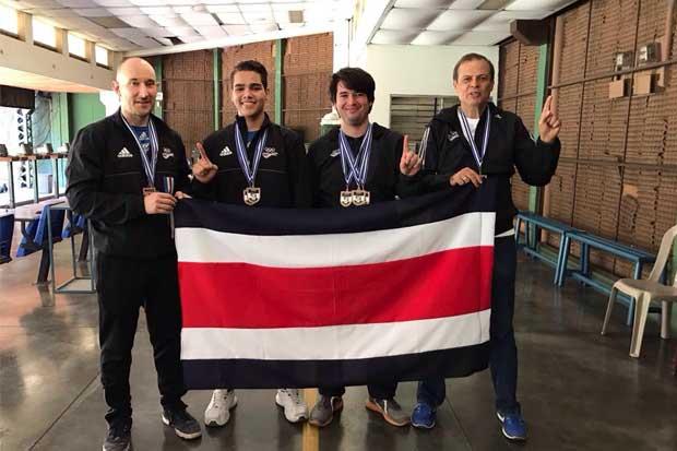 Selección de tiro gana oro en Gran Prix de El Salvador