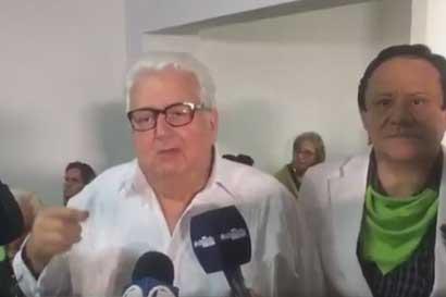 """Fernando Berrocal: En nuestros números llevamos la ventaja"""""""