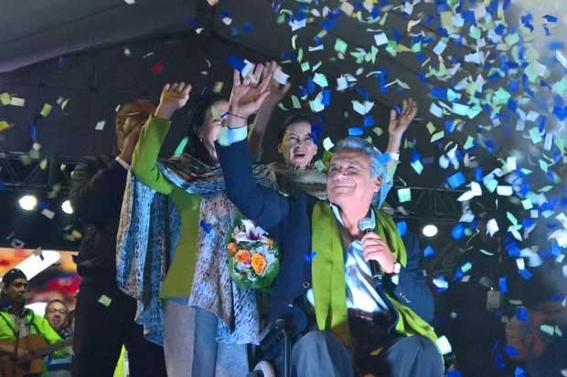 Lenin Moreno se convierte en el nuevo presidente de Ecuador
