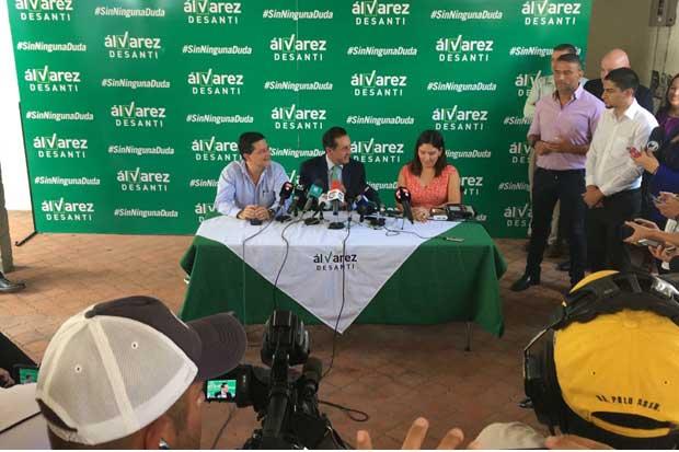 Álvarez Desanti aceptó triunfo de convención del PLN
